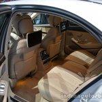 2014 Mercedes S Class S500 Plug-in Hybrid rear seats