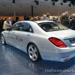 2014 Mercedes S Class S500 Plug-in Hybrid rear three quarter