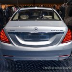 2014 Mercedes S Class S500 Plug-in Hybrid rear