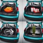 2014 Mitsubishi Colt Plus luggage space