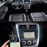2014 Mitsubishi Colt Plus satellite navigation