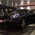 2014 Porsche Panamera facelift doors open