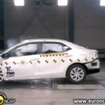 2014 Toyota Corolla Euro NCAP crash test