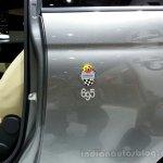 Abarth 695 Edizione Maserati badge