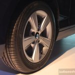 Alloy wheel of the BMW 116i