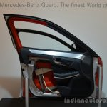 Armoured door of the Mercedes M-Guard armoured SUV