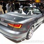 Audi A3 Cabriolet rear quarter