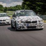 BMW M4 and M3 at Nurburgring