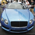 Bentley Continental GT V8 S convertible front at the 2014 Goodwood Festival of Speed