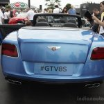 Bentley Continental GT V8 S convertible rear at the 2014 Goodwood Festival of Speed