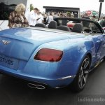 Bentley Continental GT V8 S convertible rear three quarters at the 2014 Goodwood Festival of Speed