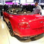 Bentley Continental GTV8S Convertible Rear Left