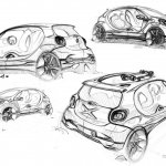 Body sketch of the Smart Fourjoy Concept