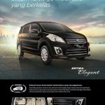 Brochure of the Suzuki Ertiga Elegant in Indonesia