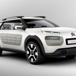 Citroen Cactus Concept front three quarters
