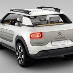 Citroen Cactus Concept rear three quarter angle