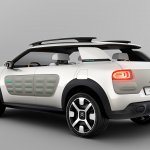 Citroen Cactus Concept rear three quarters