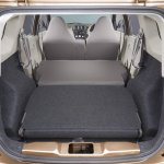 Datsun Go+ boot all seats folded