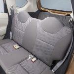 Datsun Go+ rear seats