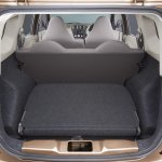 Datsun Go+ third row folded