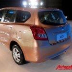 Datsun Go+ unveiled rear three quarter