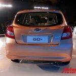Datsun Go+ unveiled rear