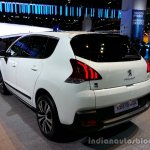 Rear left three quarter of the 2014 Peugeot 3008