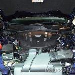 Engine bay of the Maserati Quattraporte diesel
