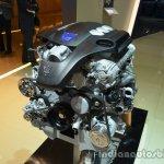Engine of the Maserati Quattraporte diesel