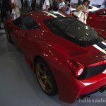 Ferrari 458 Speciale rear three quarters left at the 2014 Goodwood Festival of Speed