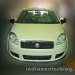 Fiat Linea Classic front spyshot