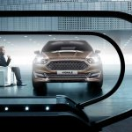 Front fascia of the Ford Mondeo Vignale concept