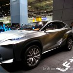 Front left three quarter of the Lexus LF-NX Concept