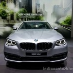 Front of the 2014 BMW 5 Series LCI
