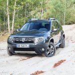 Front of the 2014 Dacia Duster