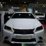Front of the 2014 Lexus GS 300h
