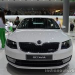 Front of the 2014 Skoda Octavia GreenLine