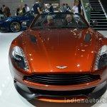 Front of the Aston Martin Vanquish Volante Q