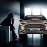 Front of the Ford Mondeo Vignale concept