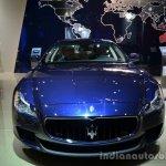 Front of the Maserati Quattraporte diesel
