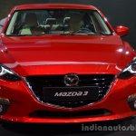 Front of the Mazda3 sedan
