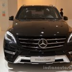 Front of the Mercedes M-Guard armoured SUV