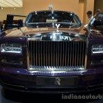 Front of the Rolls Royce Phantom Celestial Edition