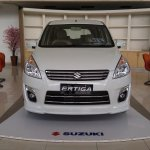 Front of the Suzuki Ertiga Elegant in Indonesia