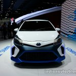 Front of the Toyota Yaris Hybrid-R Concept