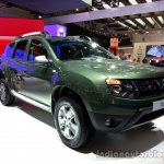 Front right three quarter of the 2014 Dacia Duster facelift