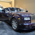 Front right three quarter of the Rolls Royce Phantom Celestial Edition