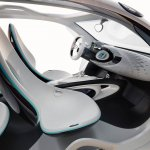 Front seats of the Smart Fourjoy Concept