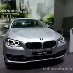Front three quarter of the 2014 BMW 5 Series LCI