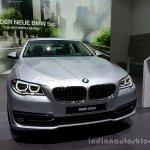 Front three quarter of the 2014 BMW 5 Series LCI